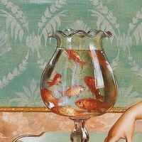 In attesa di un tuffo nel mare...  #ElataVibes   #elata #vibes #waiting #for #summer #fish #painting #beautiful #colour #red #water #mood
