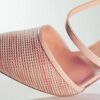 Sari e le sfumature della sua tomaia   Collezione primavera/estate  #elata #sari #spring #summer #shades #shoes #decollete #madeinitaly #colours #pink #may #details #beautiful